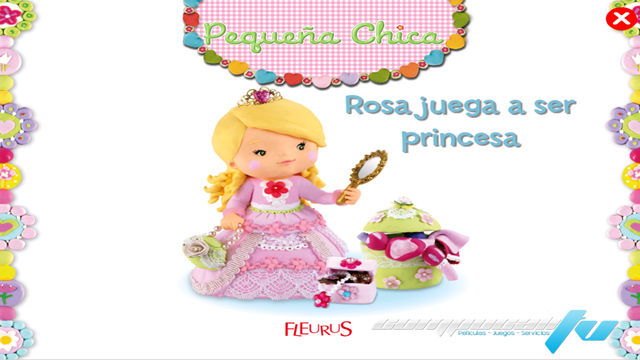 Little Girl Tess Plays At Being A Princess PC Full Español
