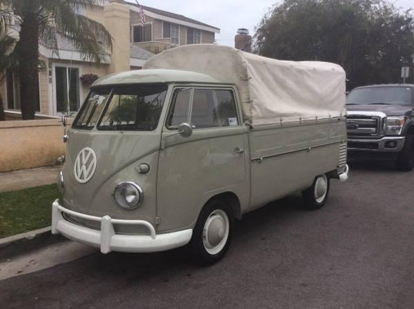 1960 VW T1 Single Cab | VW Bus
