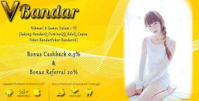 Promo Bonus Judi Poker Online VBandar99.com