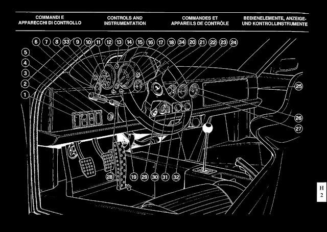 Owners manual ferrari f40 1992 us version ebook format black postado h 31st may por carwp fandeluxe Gallery