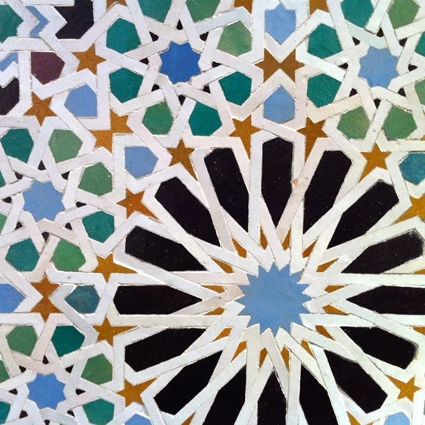Al Hamra Contemporary Art Projects Islamic Star Patterns