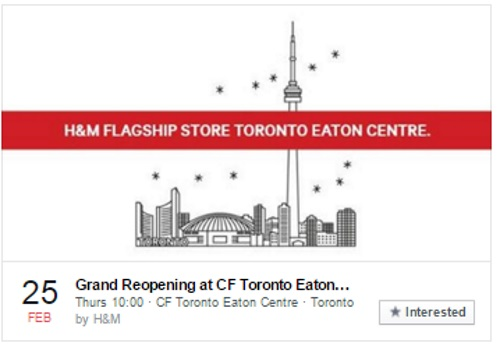 H&M Home Grand Reopening Toronto Eaton Centre Up To $500 Off Your Purchase