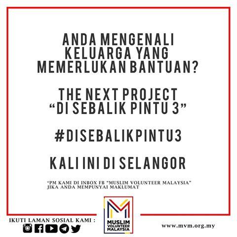 Di Sebalik Pintu 3 Muslim Volunteer Malaysia - MVM