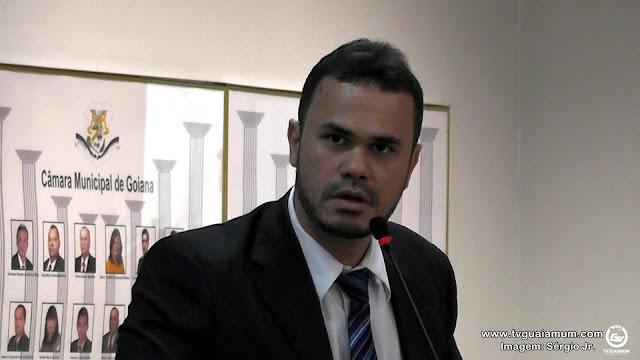 Vereador Bruno Salsa emite nota em resposta a matéria publicada em blog da cidade