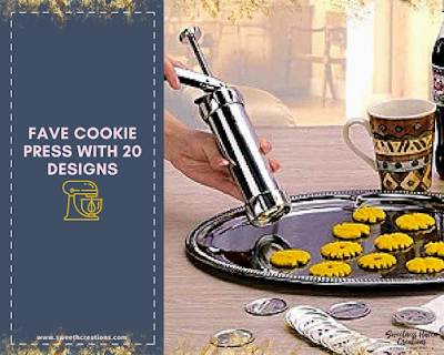 OR: COOKIE PRESS WITH 20 DESIGNS (FAVE RM25)