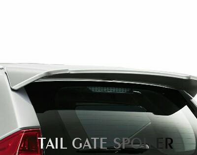 Tail Gate Spoiler Pajero Sport