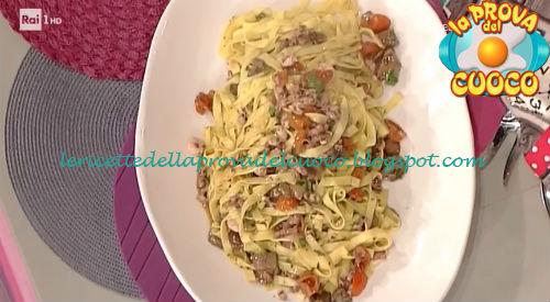 Tagliatelle mari e monti ricetta Messeri da Prova del Cuoco