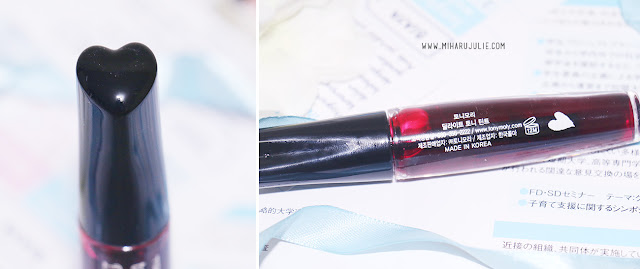 Tony Moly Tony Tint Delight #1 Cherry Pink Review