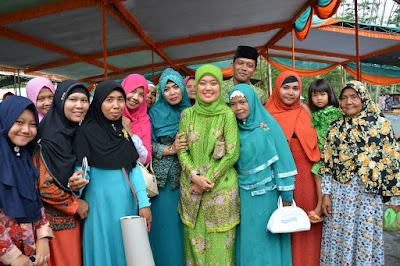 Bupati Lampung Timur Hadiri Maulid Nabi di Pondok Pesantren Darul Jalal Banding Sukadana