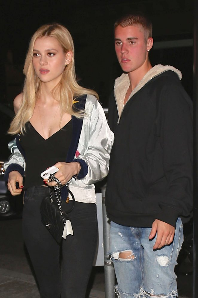 Justin Bieber takes Nicola Peltz on a date at Mastro's Steakhouse
