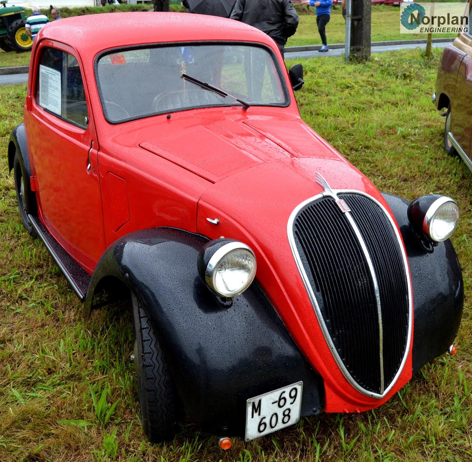 Analisis De Maquinas: Fiat 500 Topolino (1936