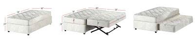 Futonland Stylish Quality High Riser Bed The Alize