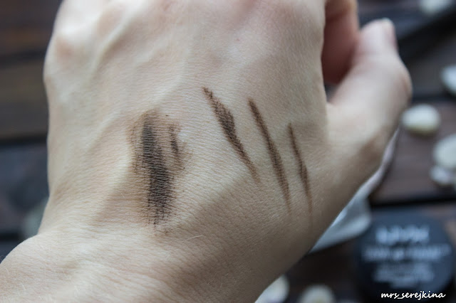 NYX Tinted brow pomade Tame&Frame 03 Brunette: swatch