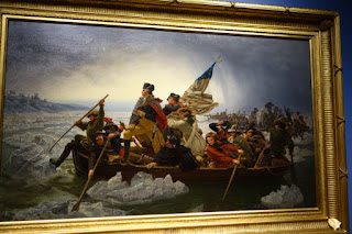 Winona Minnesota Marine Art Museum painting George Washington Delaware