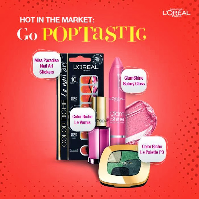 L'oreal paris Goes Poptastic !
