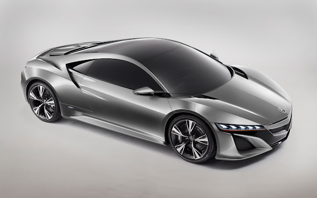Acura NSX Supercar front