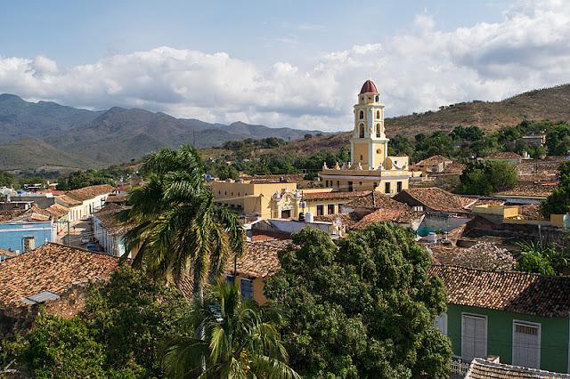 Vue générale de Trinidad (Cuba)