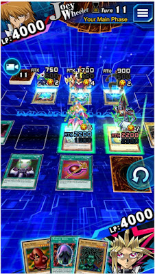 Kini hadir permainan terbaru ialah Yu Gi Yu Gi-Oh! Duel Links v3.0.1 MOD APK Terbaru [Update 2018]