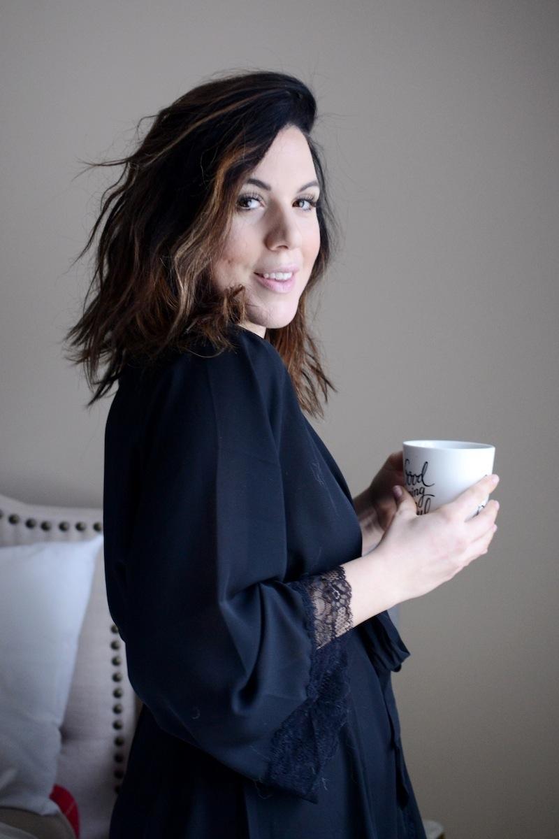 La Vie en Rose kimono vancouver fashion blogger Aleesha Harris #LaVieenLove