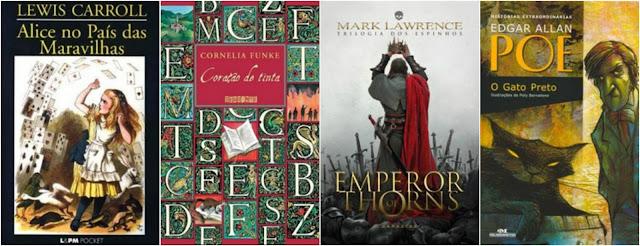 Livros lidos de Janeiro a Março