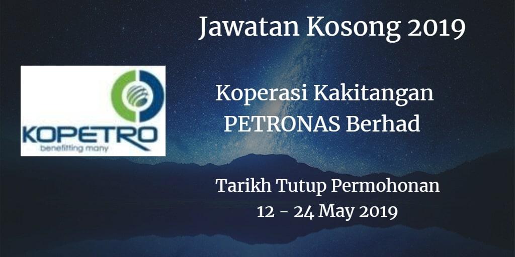 Jawatan Kosong KOPETRO 12 - 24 May 2019
