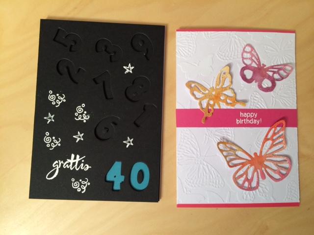 Födelsedagskort till 40-åringar