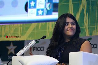 Ekta Kapoor Anurag Kashyap & Ramesh SippyAt at FICCI FRAMES 2017  0116.JPG