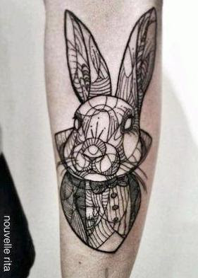If You Have A Bunny Tattoo Not Already Shown Below Post It On The RR FB Page Or Email New Pictures Added Throughout