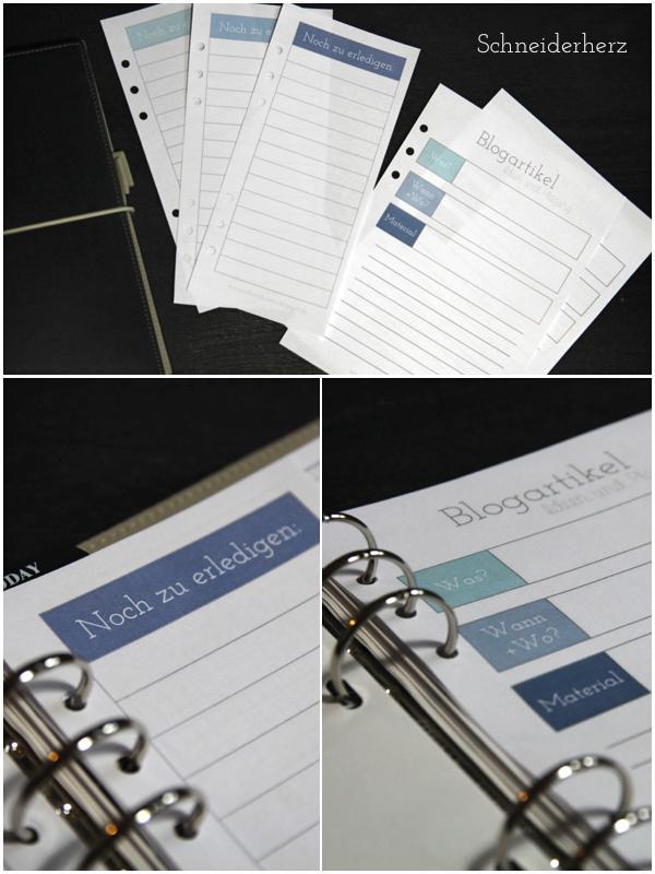 Filofax Printable Druckvorlage ToDo Liste