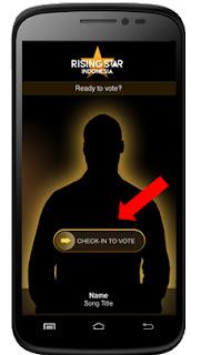 aplikasi voting rising star indonesia
