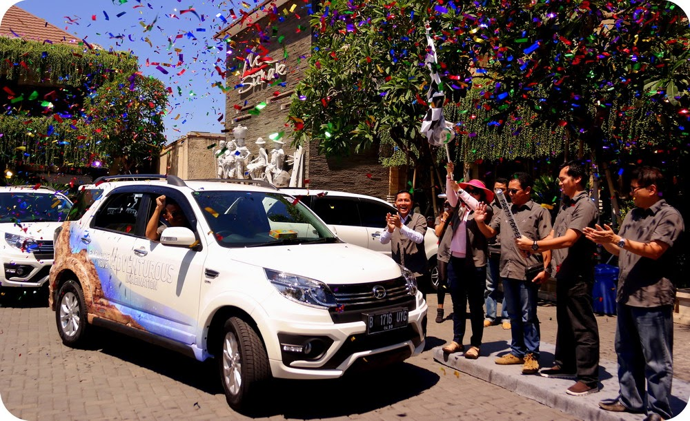 Media Test Drive Daihatsu New Terios