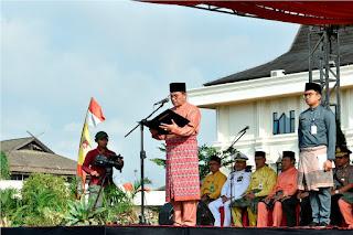 Plt Gubernur Jambi Irup HUT Provinsi Jambi Ke-62 Tahun