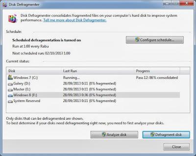 Cara Defragment Hardisk pada Windows 7 | Tutorial Terbaru Lengkap