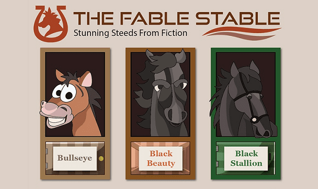 The Fable Stable: Stunning Steeds from Fiction