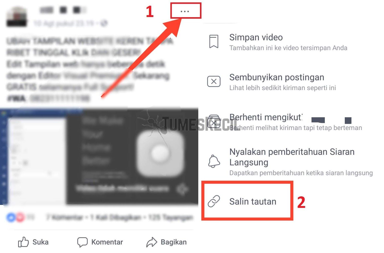 Cara Download Video di Facebook Tanpa Aplikasi di HP
