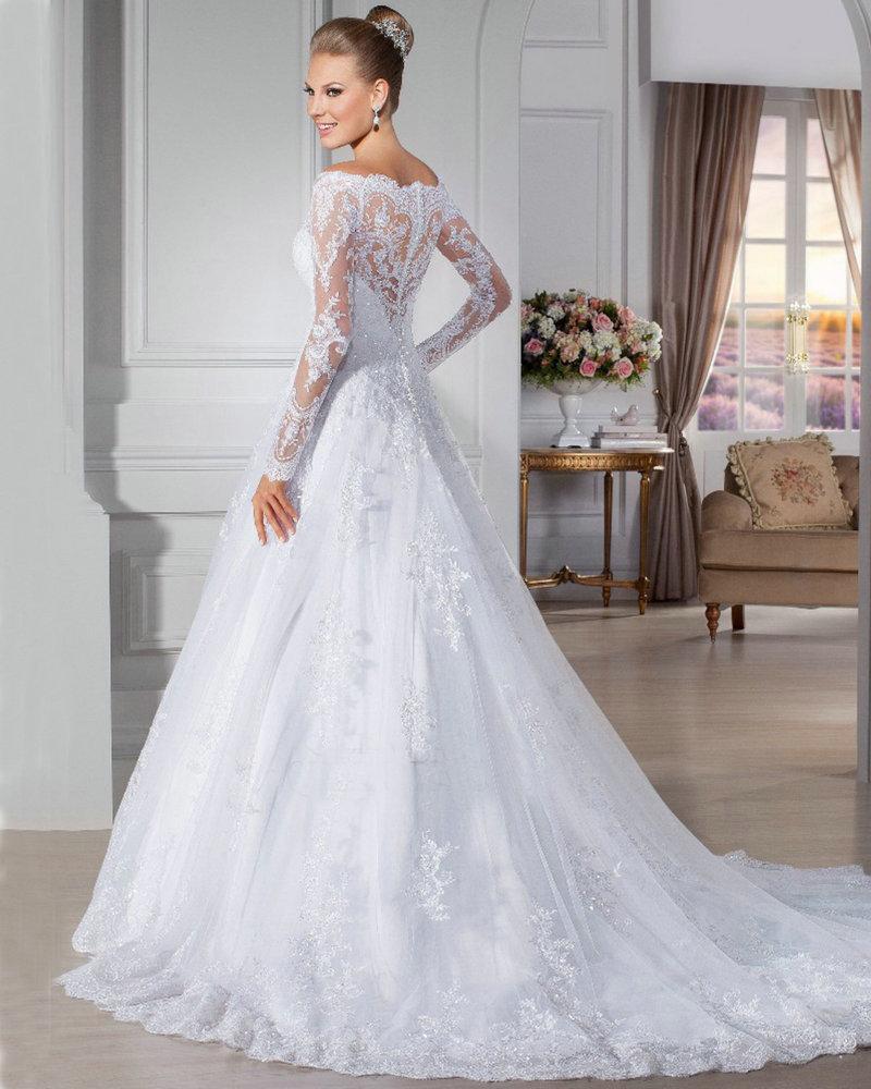 Sapphire Bridal Vintage Wedding Dress 3 4 Sleeve White: LA CASITA DE PAULA Y EVENTOS JC