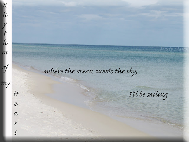 At the beach ~ ocean and sky