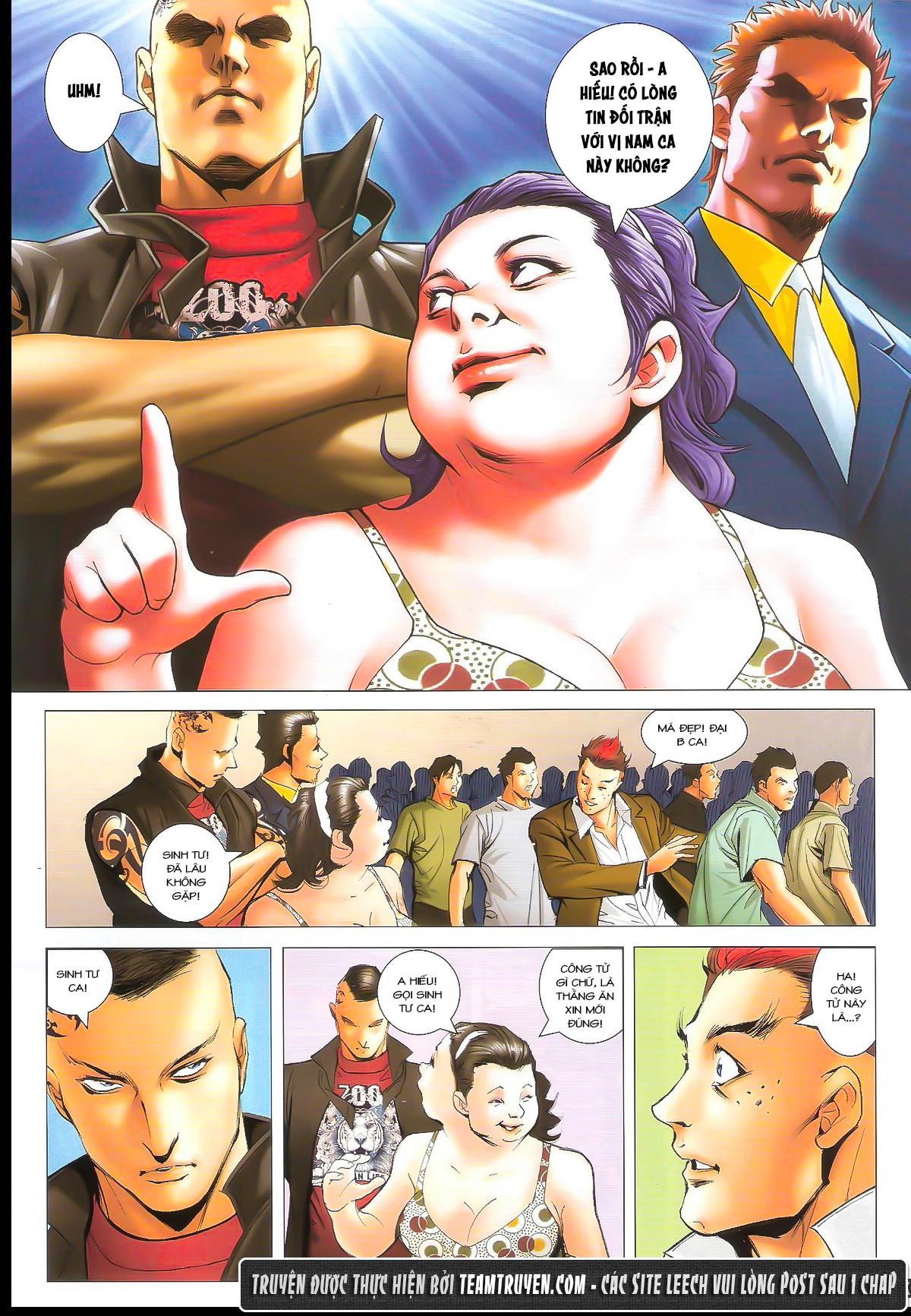 Người Trong Giang Hồ chapter 1626: đấu quyền ngầm iii trang 27