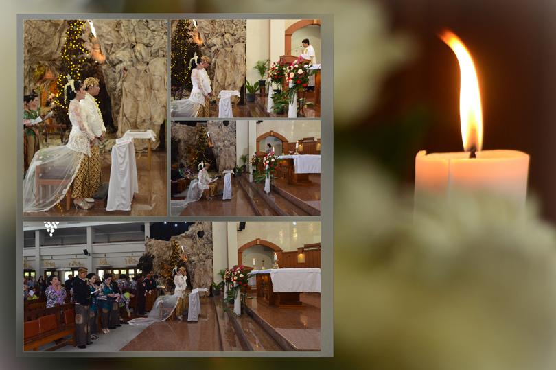 pemberkatan nikah katholik