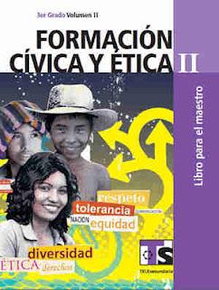 Formación Cívica y Ética IIlibro para el MaestroVolumen II–Tercer gradoLibro de texto de Telesecundaria2017-2018