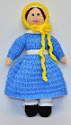 Victorian Doll Knitting Pattern
