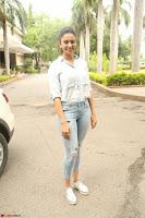 Rakul Preet Singh in Jeans and White Shirt At Jaya Janaki Nayaka le Logo Launch ~  Exclusive 078.JPG