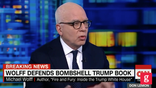 Wolff: The Conversation I Had with Trump 'in February Was Perfectly on the Record' :: Grabien - The Multimedia Marketplace