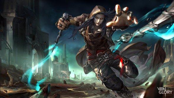 Zinna Du deviantart ilustrações fantasia games arte