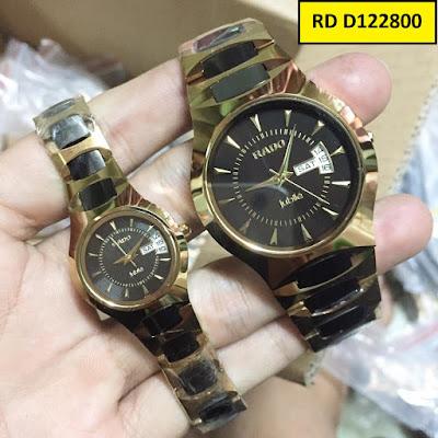 Đồng hồ cặp đôi đẹp nhất RD Đ122800