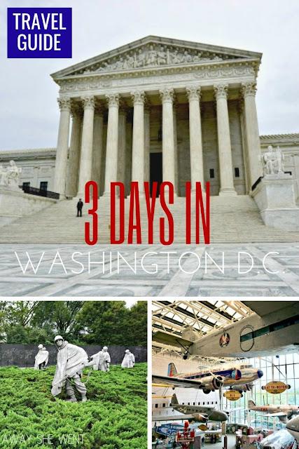 3 Days in Washington D.C.