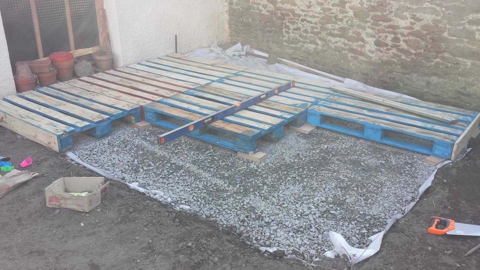 Tutoriel pour faire une terrasse design en palettes facilement id es et tuto de cr ations d - Mettre une couette facilement ...