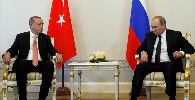 "Stratfor: Η ""φιλία"" Πούτιν - Ερντογάν δεν θα κρατήσει πολύ"
