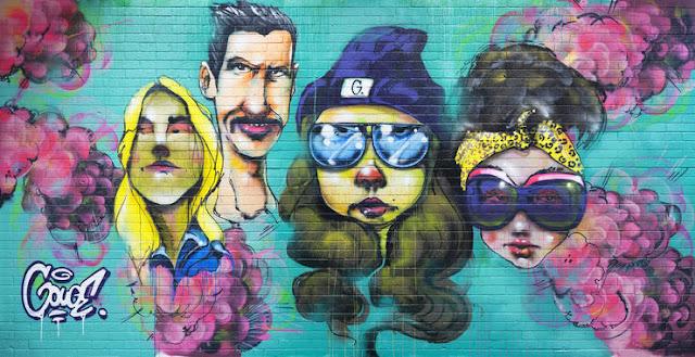 graffiti seinä