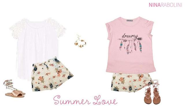 Moda en ropa para chicas primavera verano 2018.